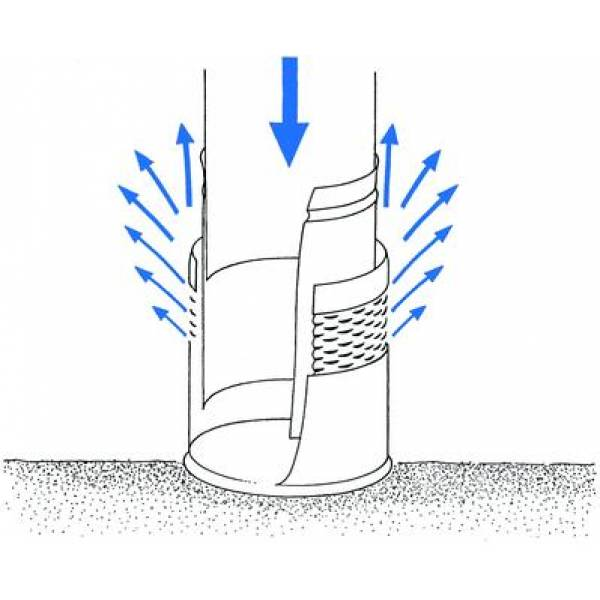 how a smotthing inlet works rainwater harvesting