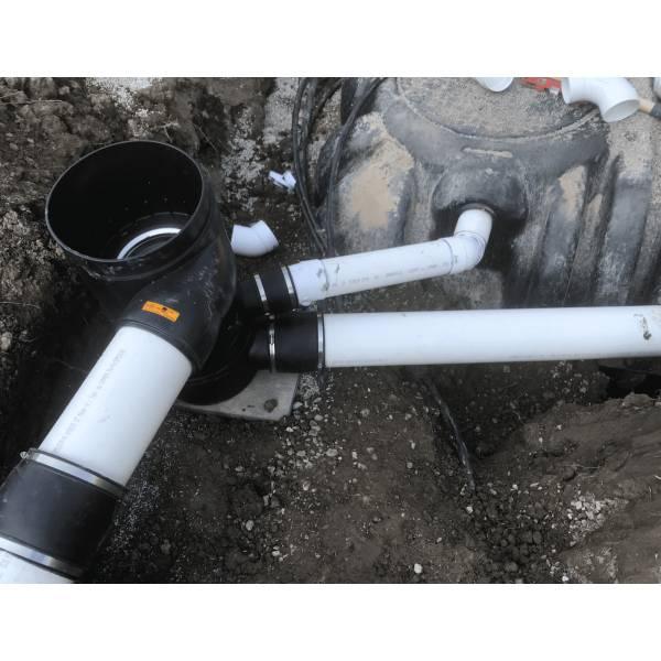 wisy vortex filter installed underground