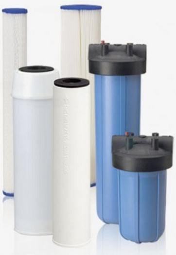 rainwater harvesting sediment  and carbon filters